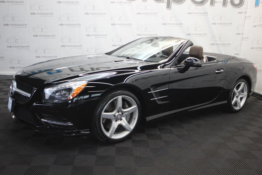 Pre-Owned 2015 Mercedes-Benz SL-Class SL 400 Roadster