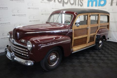 Pre-Owned 1946 Ford Super Deluxe Station Wagon